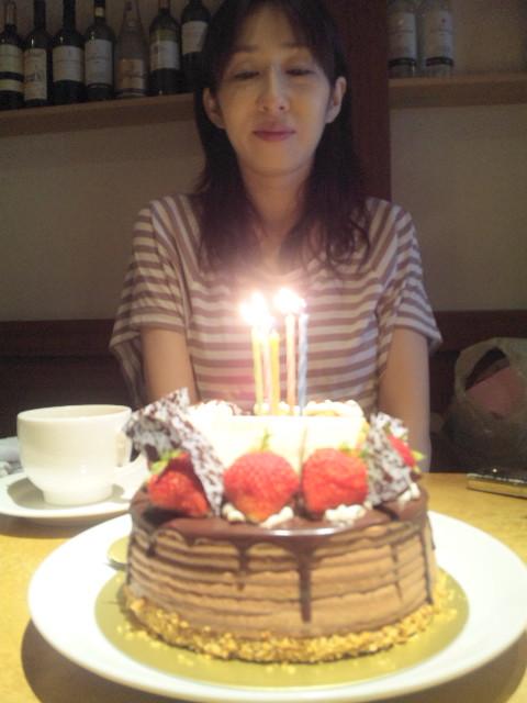 ケーキ食べました♪