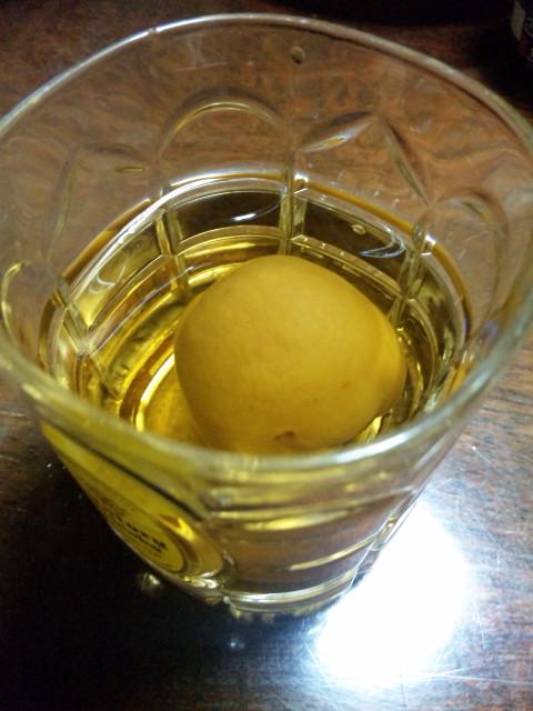 杏酒はセピア色の味がした…